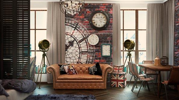 estilo vintage en decoracion