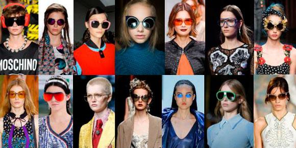 mujeres con gafas bintage