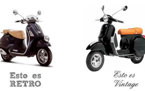 diferencia entre moto vitange y moto retro vintage significado